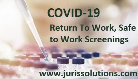 COVID-19 testing, SARS-CoV-2 virus, Coronavirus testing NYC, NYS, NY. Covid-19 return to work testing. Corona virus testing for essential workers.